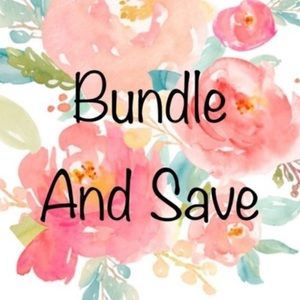❤️ Bundle items and save 💲💲